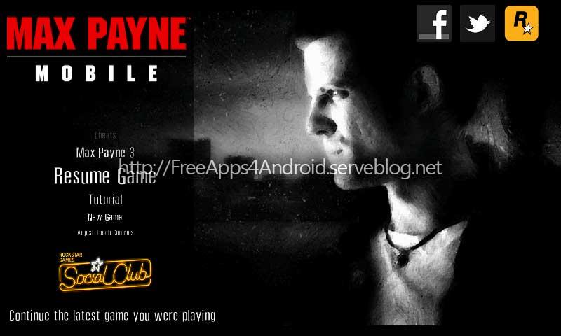 Max Payne Mobile apk v1.0